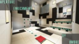 Aperture Enrichment - Adventure Map Minecraft Project