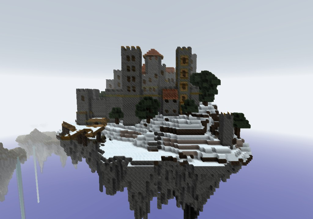 Snow Castle Floating Island