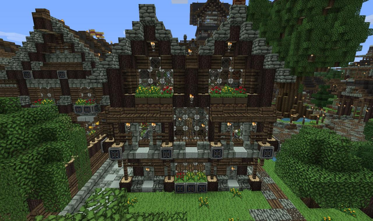 Small Medieval House Mittelalterliches Haus Minecraft Project - Minecraft mittelalter hauser download