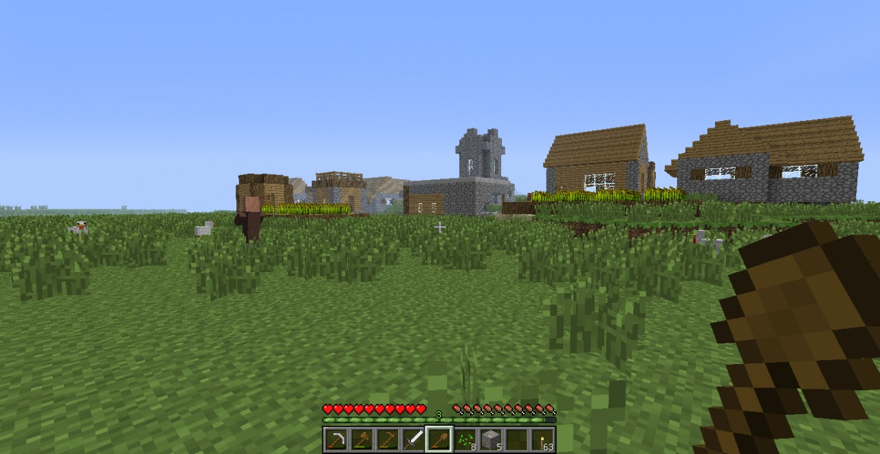 Village Life Minecraft Project