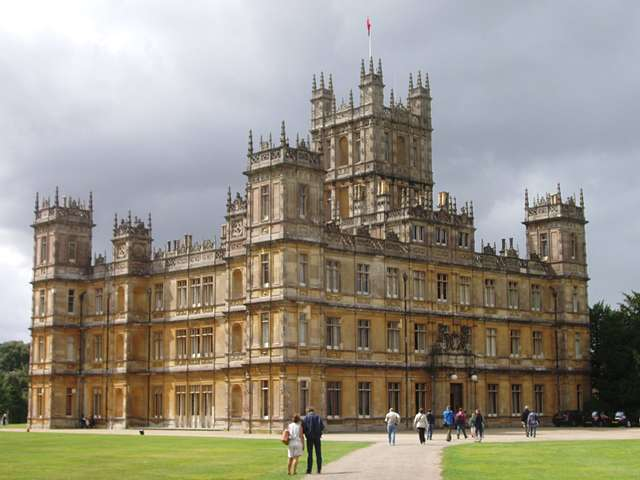 Downton abbey highclere castle minecraft project - Downton abbey chateau ...