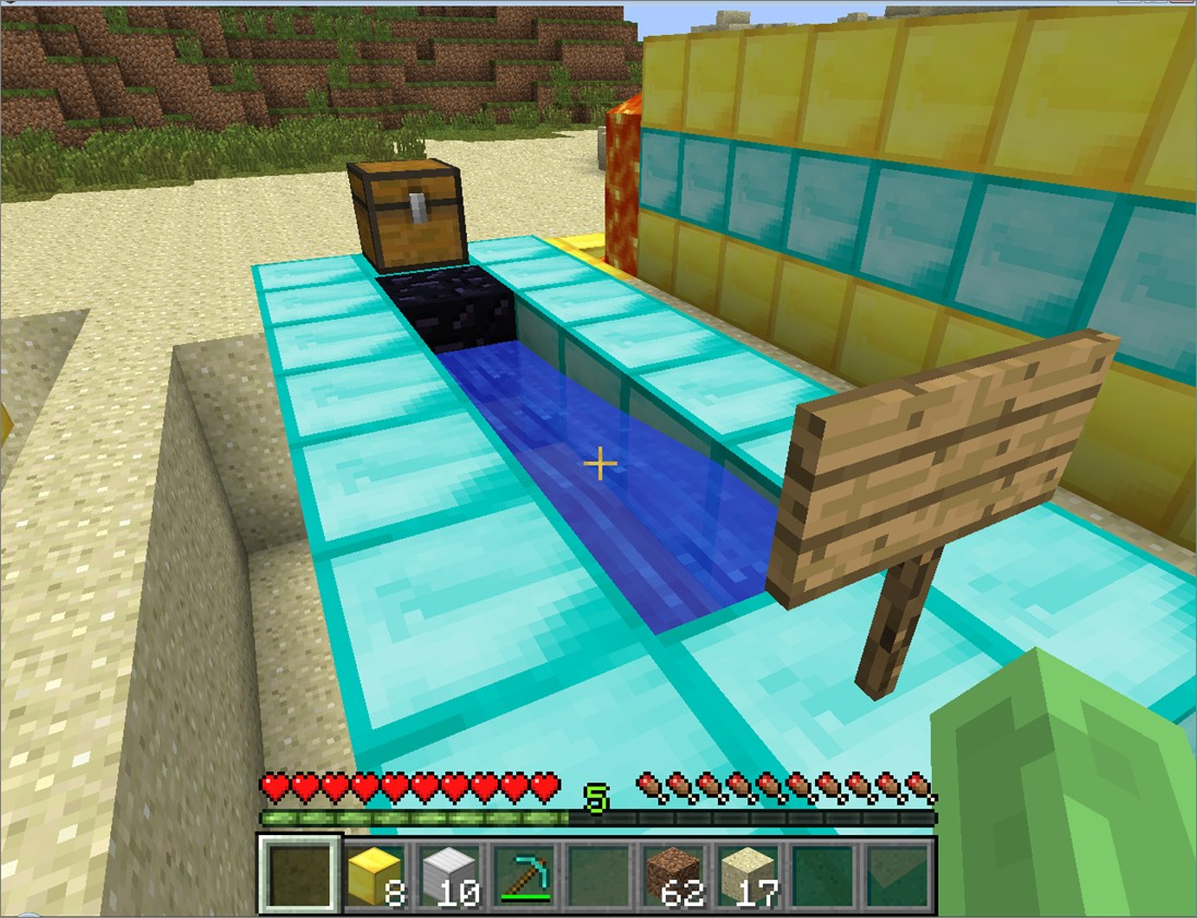 obsidian chest minecraft