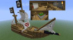 Alex Ze Pirate's Ship Minecraft Map & Project