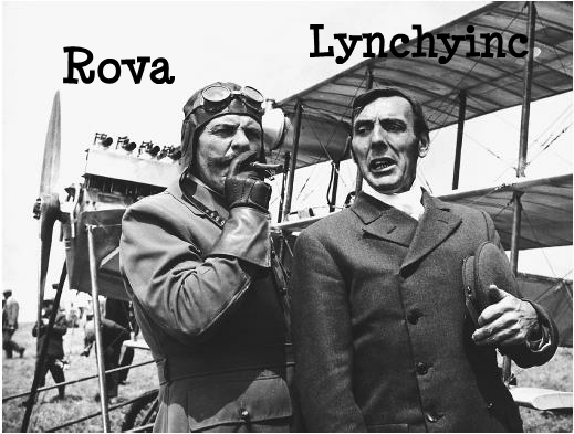 What Rova and Lynchy ACTUALLY look like.