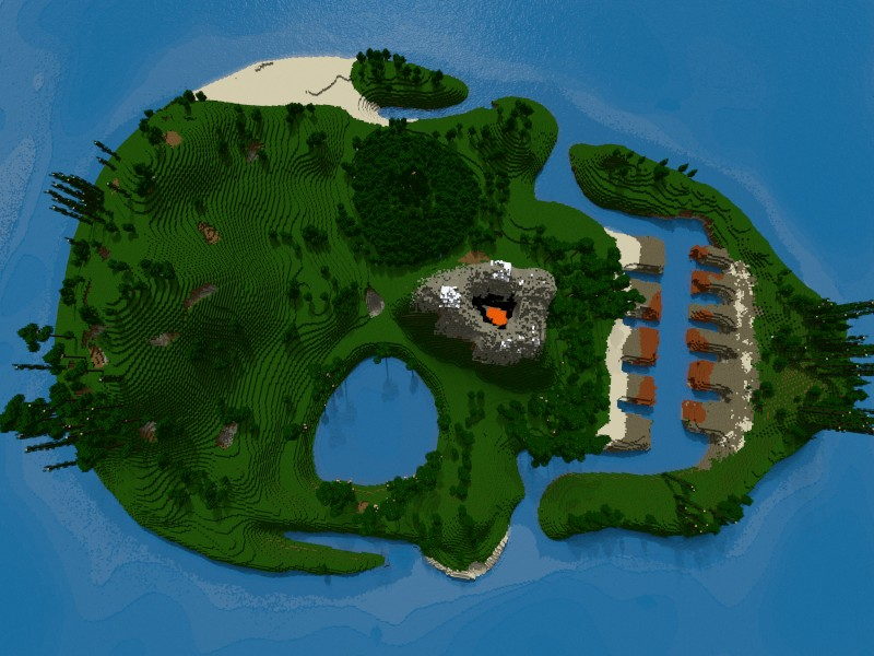 Top Seed Minecraft    Island