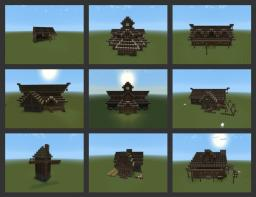 Skyrim building bundle [100%] Minecraft Map & Project