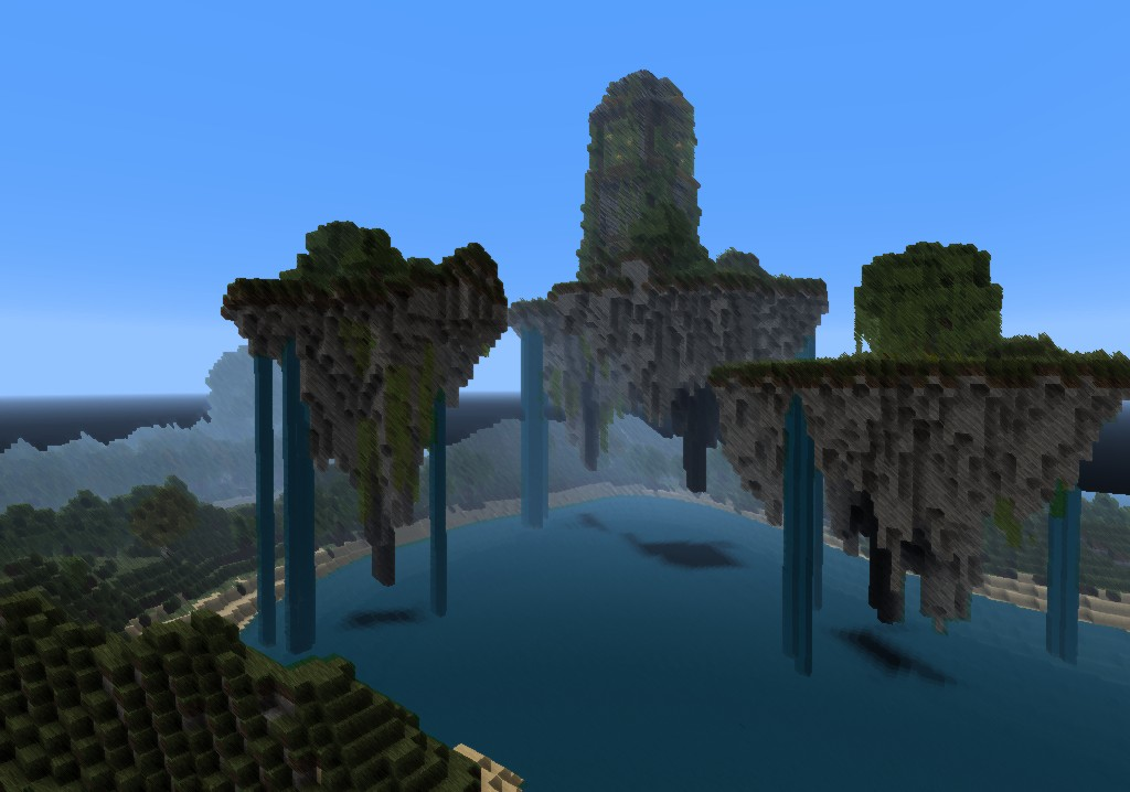Floating Islands Magetower Minecraft Project