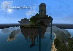 Floating Islands [+Magetower] Minecraft