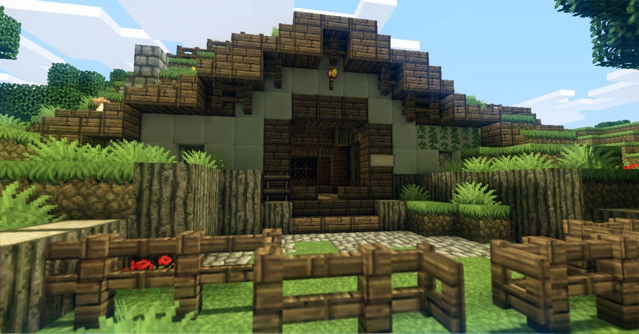 how to make a hobbit house in minecraft grian