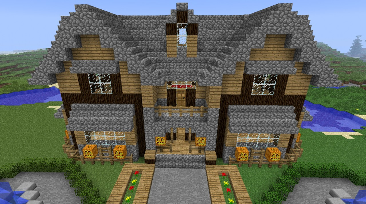 Vacation house minecraft project for Project house