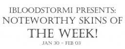 IBloodstormI Presents: Noteworthy Skins of the Week! Jan 30 - Feb 03 Minecraft Blog