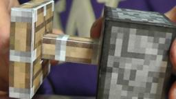 NEW Minecraft Papercraft Pistons! Minecraft Blog Post