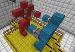 Rock 'Em Sock 'Em Robots Minecraft Map & Project