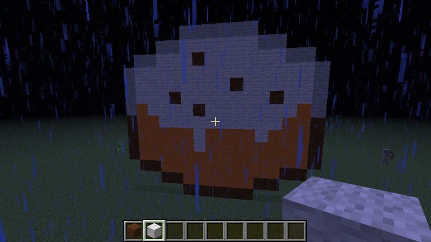 Pixel Art #15 = Chocolate Chip Cake Minecraft Project