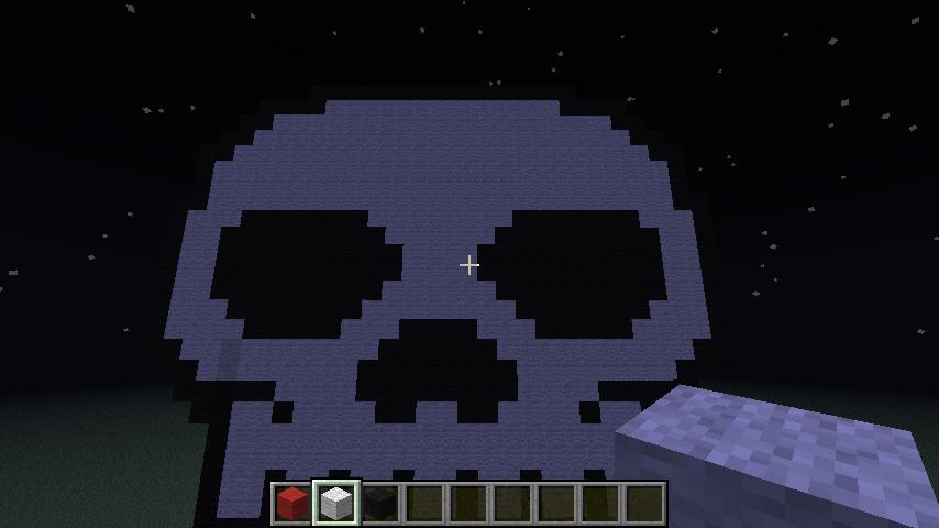 Pixel Art #18 = Skull