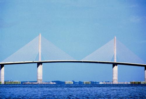The real Sunshine Skyway Bridge