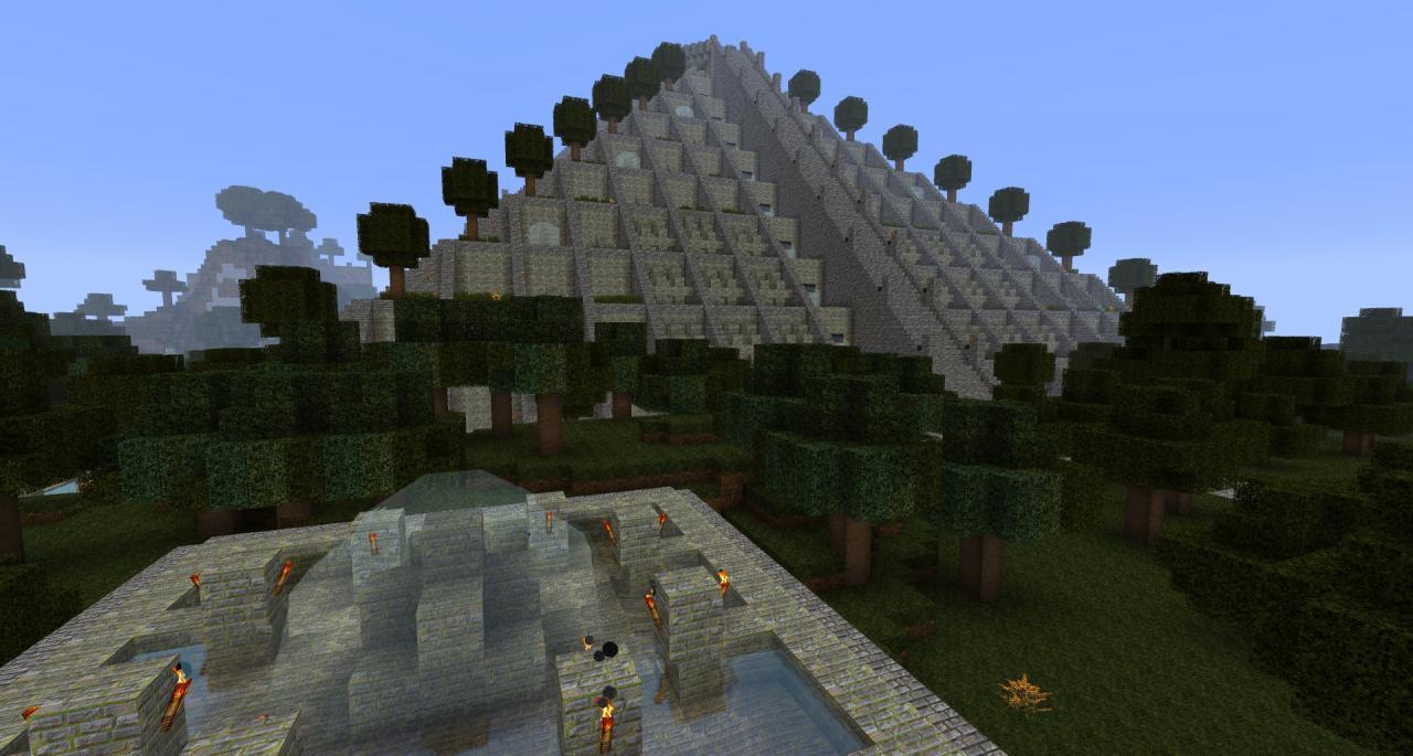 Aztec TempleInside Aztec Temple