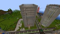 World Trade Center with XP-Farm [kaguBe-Survival] Minecraft Map & Project