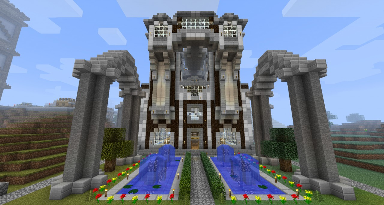 Grand Materials Library Minecraft Project