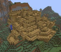 The Mountain Town Minecraft Map & Project