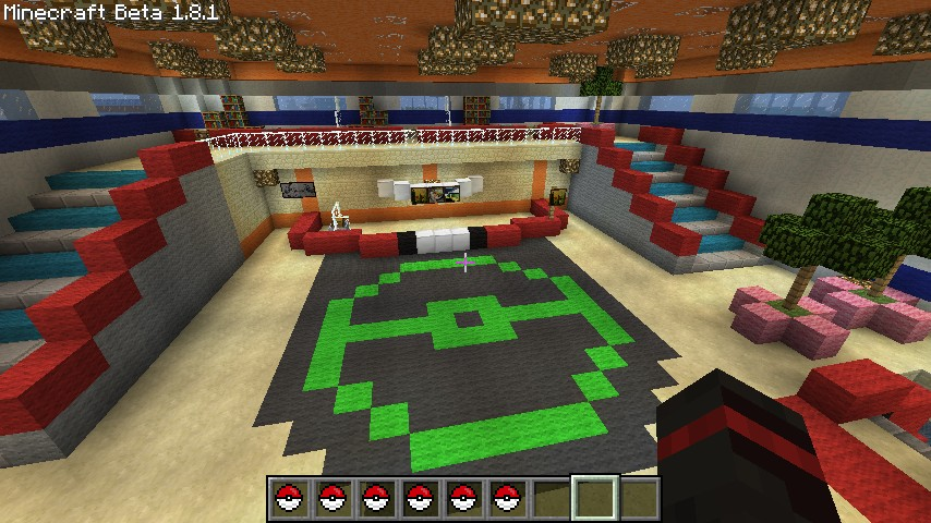 how to change the center of a map in mincraft