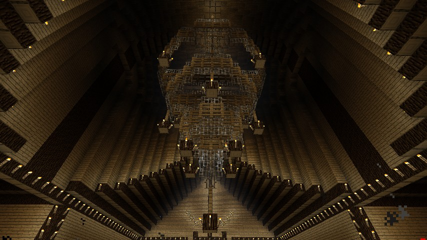 Large chandelier minecraft project large chandelier aloadofball
