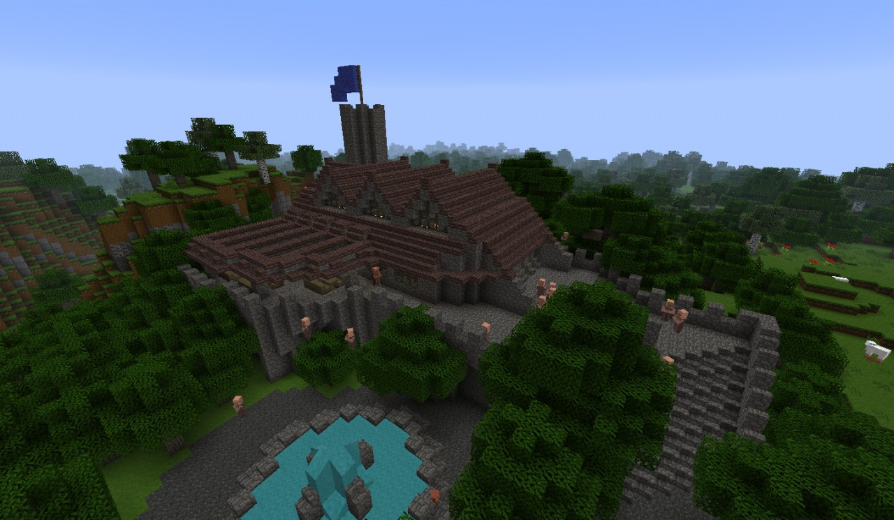 Old Library Minecraft Map