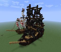 ,,Black Pearl'' Jack Sparrow's flag ship Minecraft Map & Project