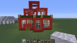 Red Modern House! Minecraft Map & Project