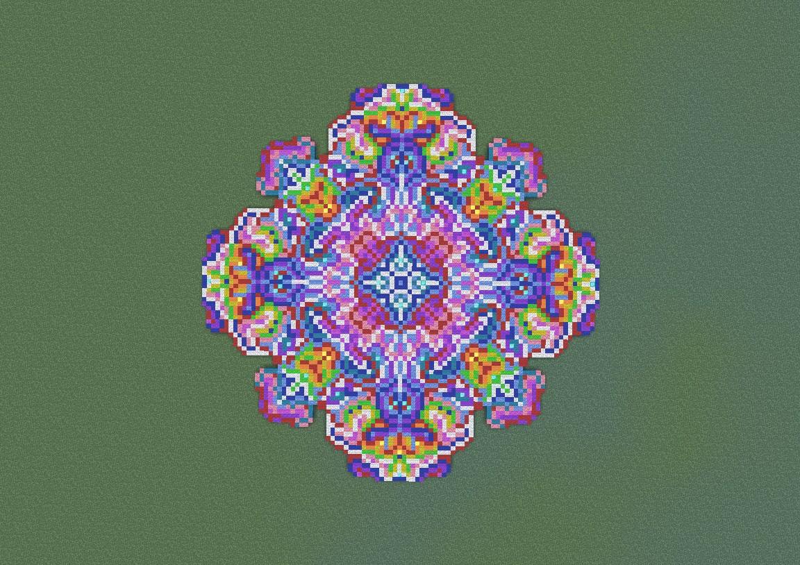 Pixel Flower Minecraft Project
