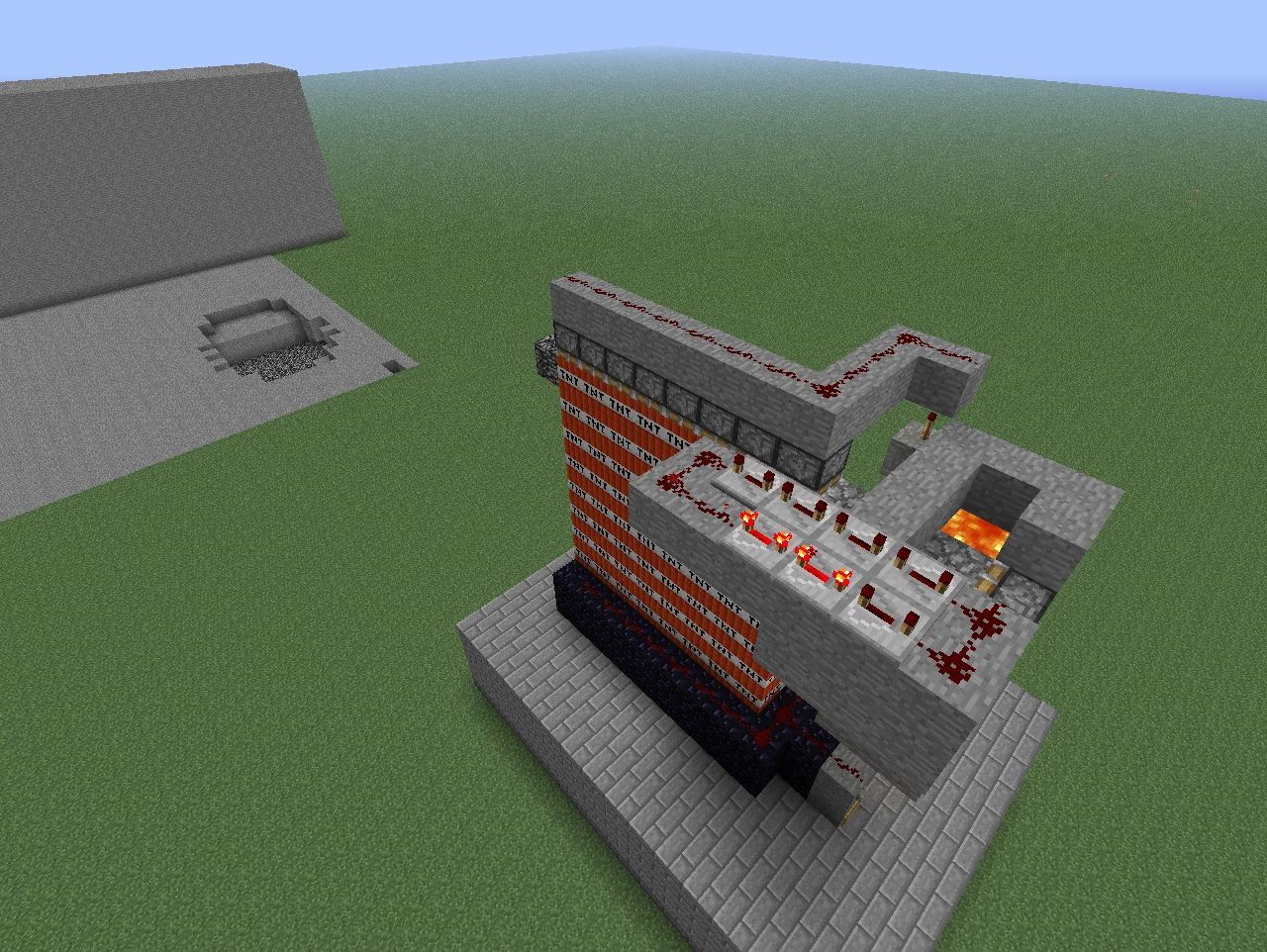 Reloadable TNT Cannon DOWNLOAD! Minecraft Project