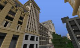 [1.2.3] Updated / 20th Century City Texture Pack. Minecraft Texture Pack