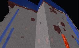 lol glitched up flat land Minecraft Project