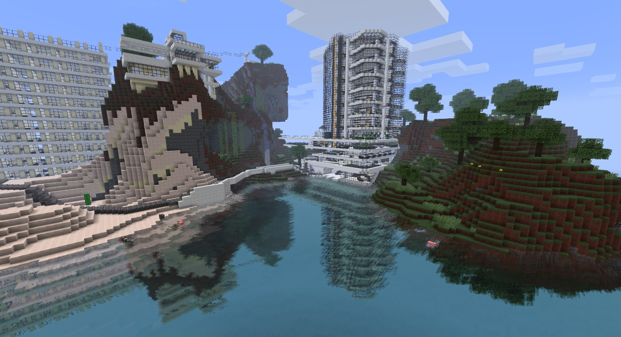 Modern Resort Top 20 in contest Minecraft Project