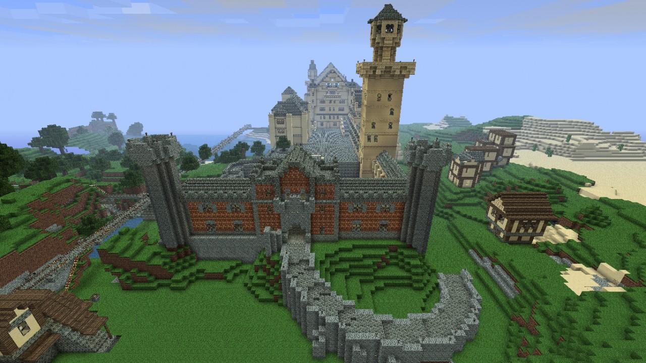 Schloss Neuschwanstein Minecraft Project