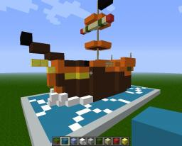 ssbb wind waker pirate ship Minecraft