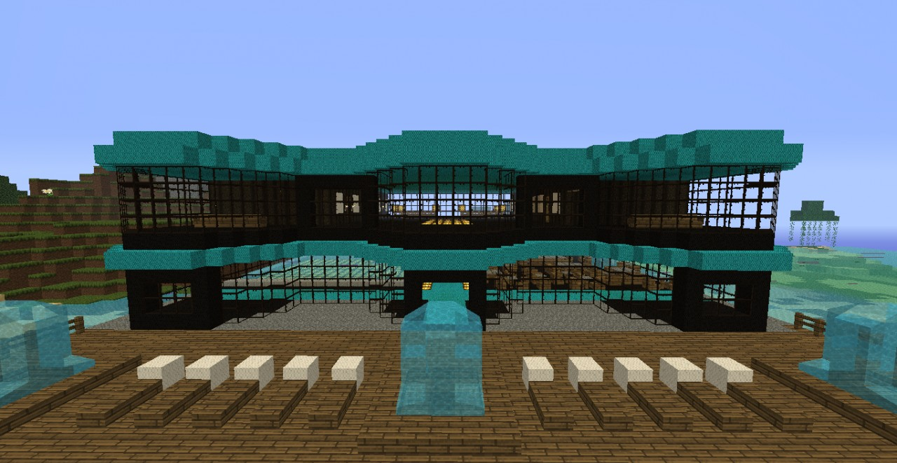 Minecraft Tropical Island: Tropical Island Resort (Competition) Minecraft Project