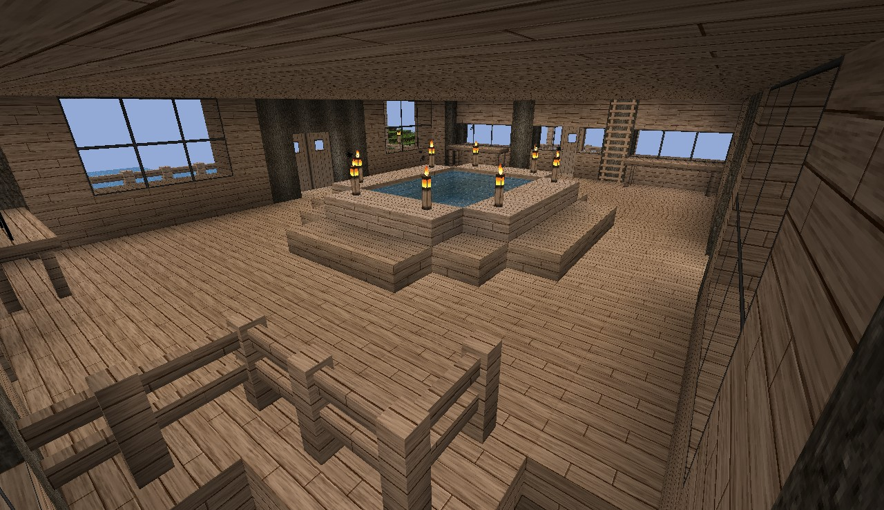 Four Story Mansion Minecraft Project