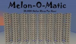 Automatic Melon Farm : 30,000 + Melon Slices An Hour Minecraft Map & Project