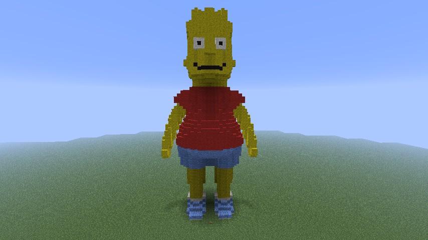 Bart wool statue
