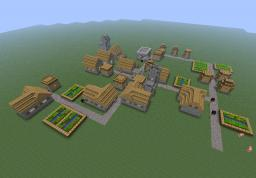 Awesome NPC village Minecraft