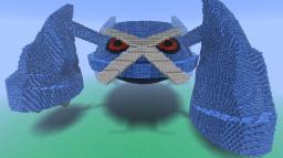 Metagross 3D Minecraft Map & Project