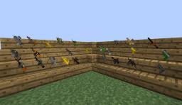 Better Guns for Heuristix's TheGunMod Minecraft Mod
