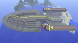 USS Primer, Star Trek Inspired Spaceship *Hull only* Minecraft Map & Project