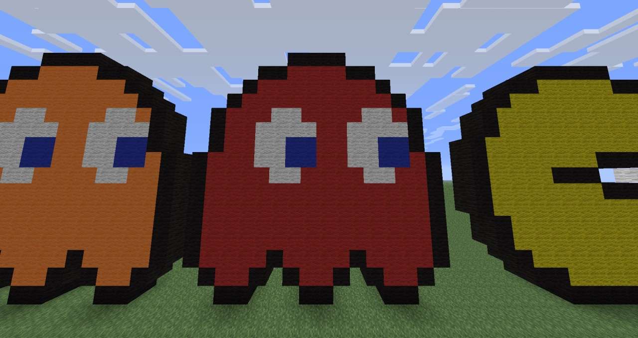 pacman pixel related keywords - photo #30