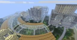 My Epic Cathedral in a City Minecraft Project