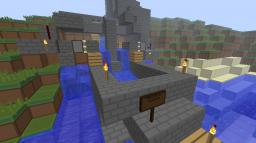 Un finished redstone revolution Minecraft Map & Project