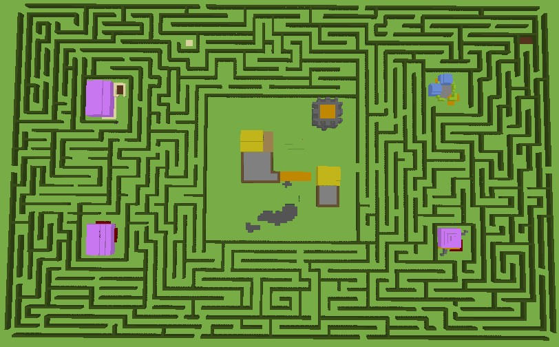 ultima online hedge maze minecraft project