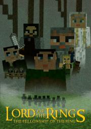 Lord of the Rings Fellowship of the Ring poster Minecraft