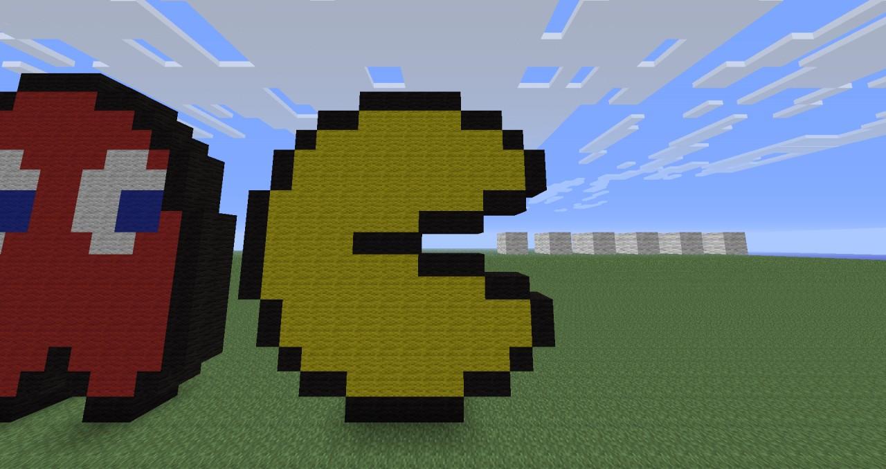 Pac-Man w/ Ghosts :3 Minecraft Project  Pac-Man w/ Ghos...